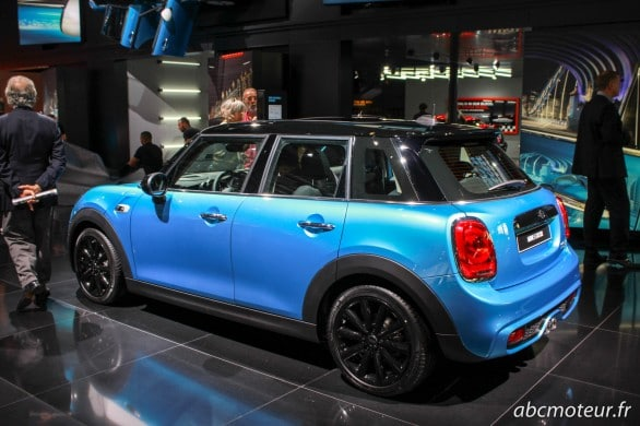 Mini Cooper S 5 portes Paris 2014