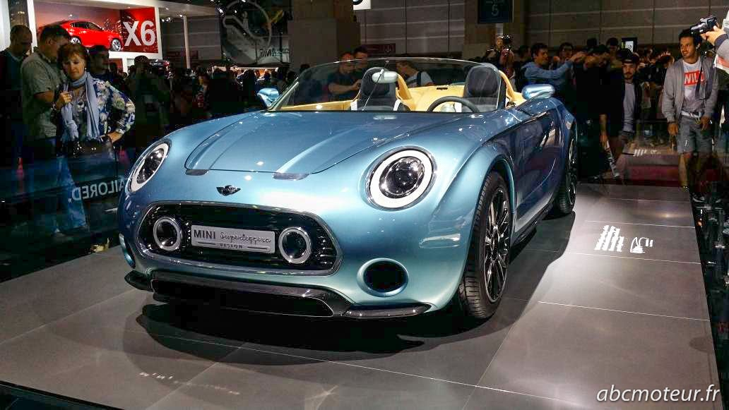 Mini Superleggera Vision Paris 2014