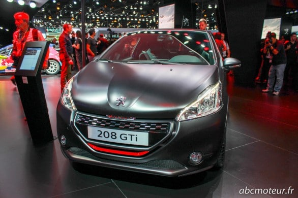 Peugeot 208 GTi 30th Paris 2014