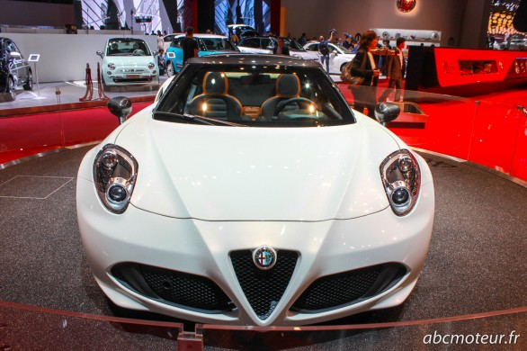 avant 4C Spider Paris 2014