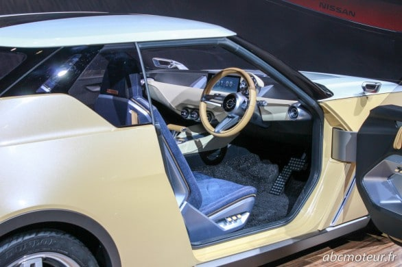 interieur Nissan IDx Freeflow Mondial Auto 2014