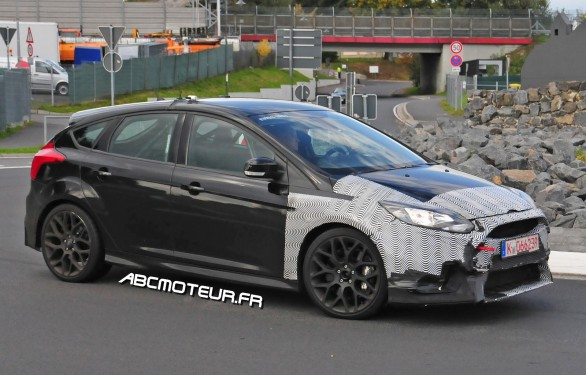 photo volee Ford Focus RS