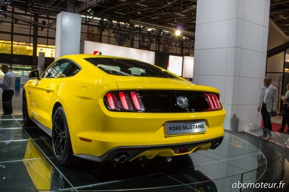 poupe Ford Mustang Paris 2014