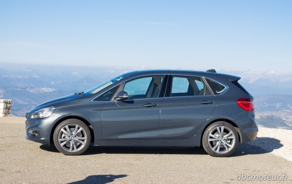 profil BMW Serie 2 Active Tourer