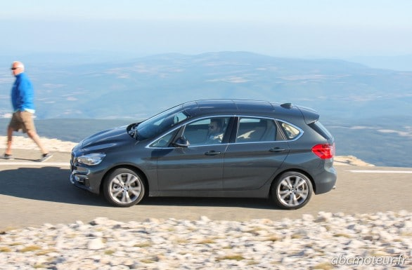 roulage BMW Serie 2 Active Tourer