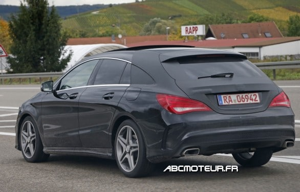 spyshot Mercedes CLA Shooting Brake