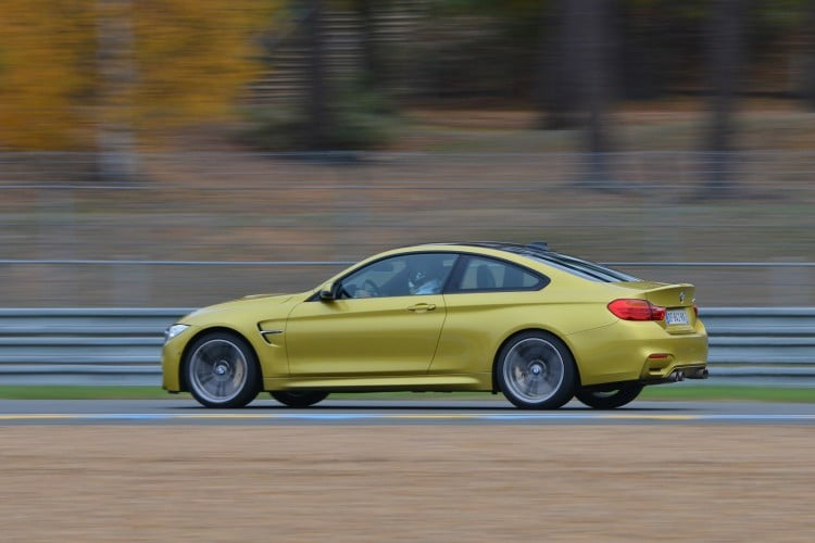 BMW M4 Coupe echappement M Performance