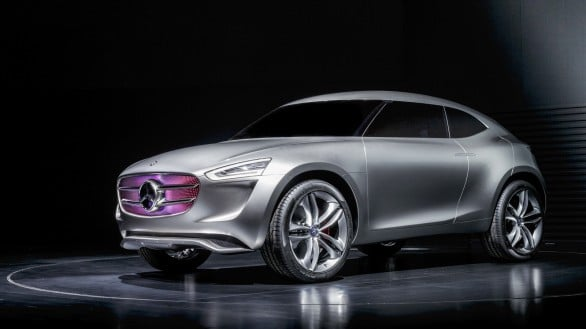 Mercedes Vision G-Code Concept