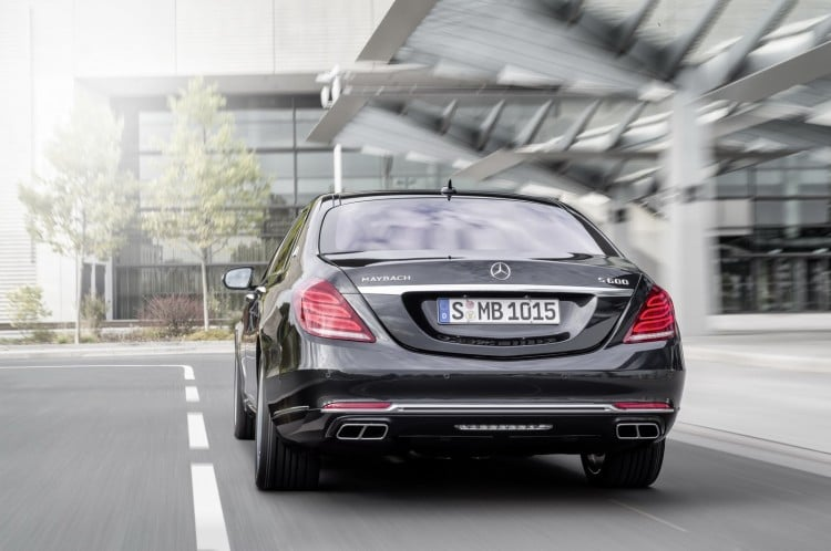 arriere Maybach-Mercedes-Classe S