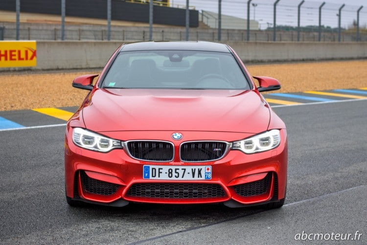 avant BMW M4 Coupe F82