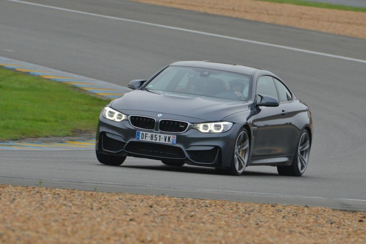 circuit BMW M4 Coupe