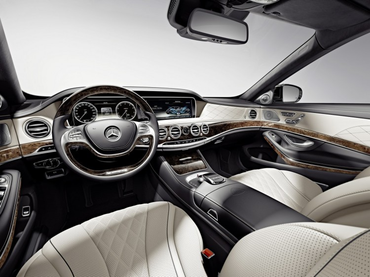 interieur Maybach-Mercedes-Classe S
