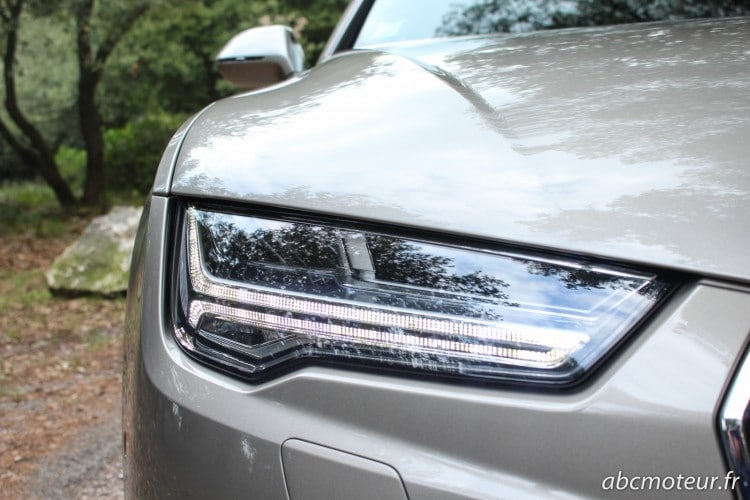 optique LED Audi A7 Sportback restylee V6 BiTDI 320 ch