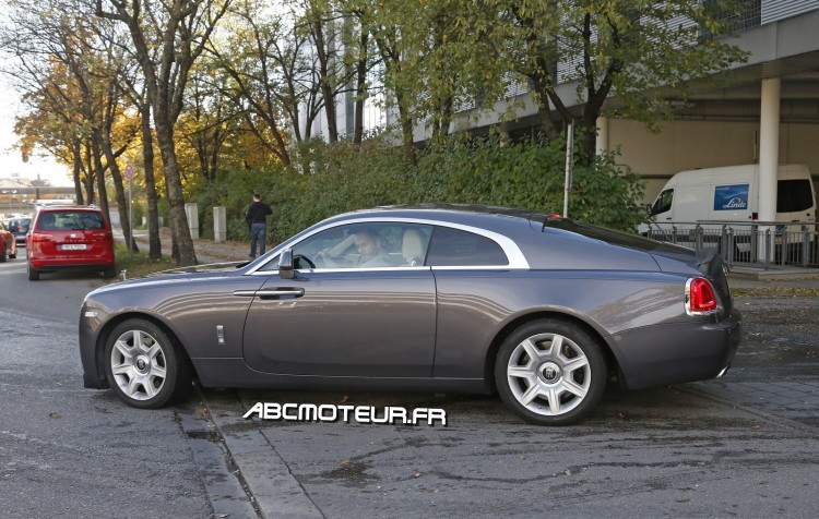 photo espion Rolls Royce Wraith Sport