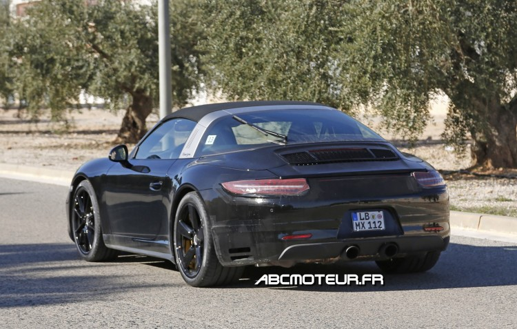 photo volee future 911 Targa restylee