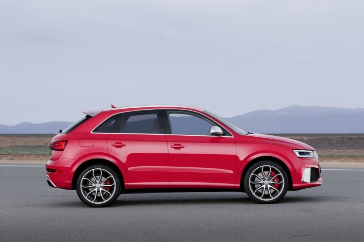 profil Audi RS Q3 phase 2