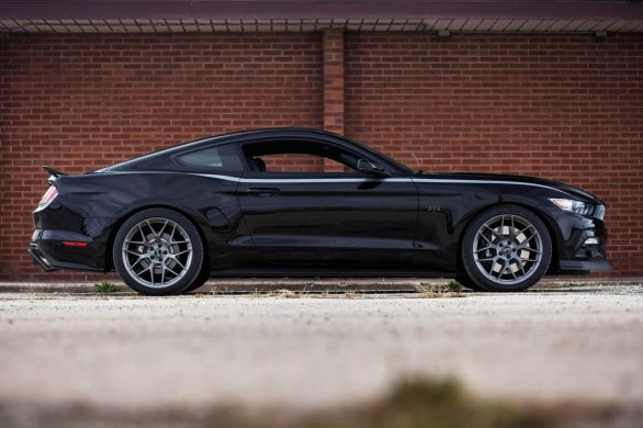 profil Ford Mustang RTR