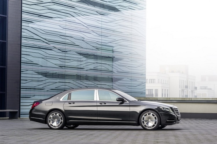 profil Maybach-Mercedes-Classe S