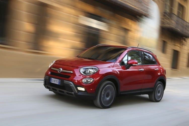 roulage Fiat-500X