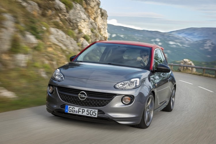 roulage Opel Adam S