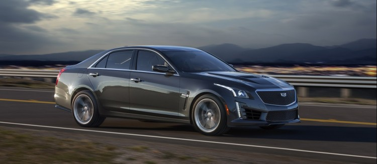 Cadillac CTS-V berline