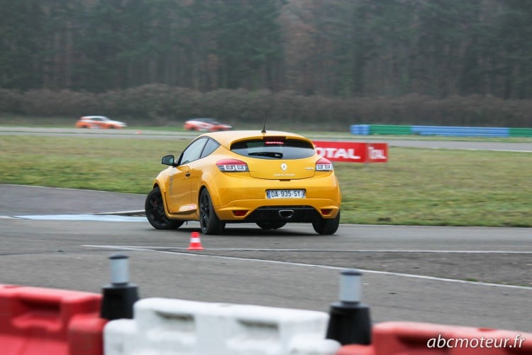 Megane 3 RS Easydrift circuit Dreux