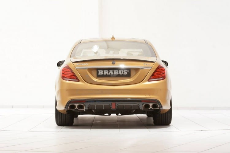 arriere Mercedes S 63 AMG Brabus
