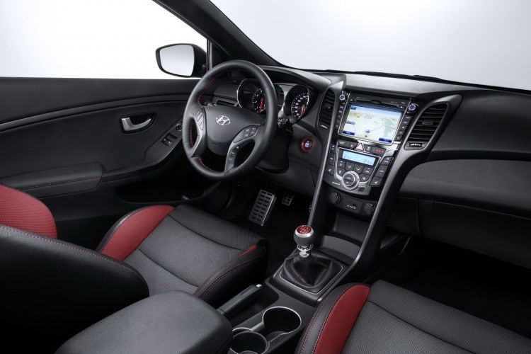 interieur Hyundai i30 Turbo