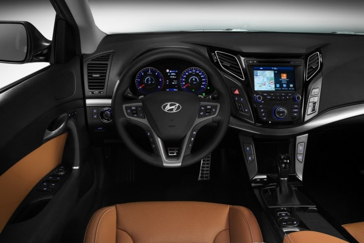 interieur nouvelle Hyundai i40 restylee