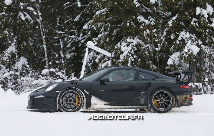 photo espion Porsche 911 991 GT3 RS