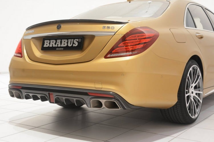 poupe Mercedes S 63 AMG Brabus