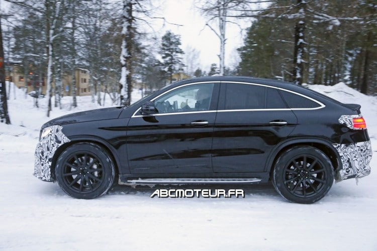 profil Mercedes-AMG GLE 63 Coupe