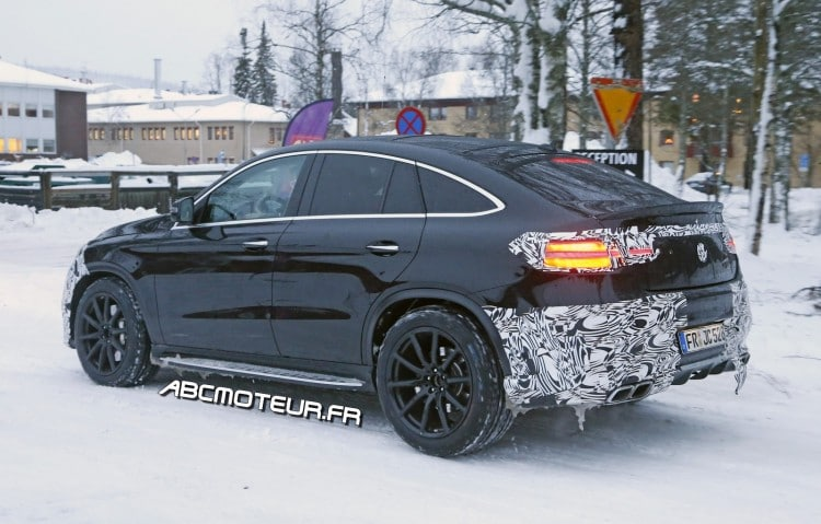 vue 3-4 arriere Mercedes-AMG GLE 63 Coupe