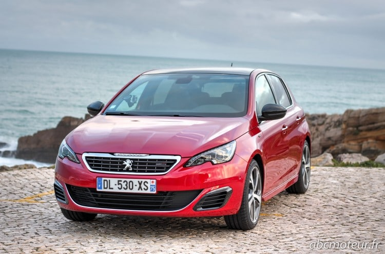 Peugeot 308 GT Rouge Rubis