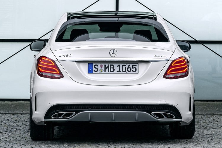 arriere Mercedes-C450-AMG-Sport