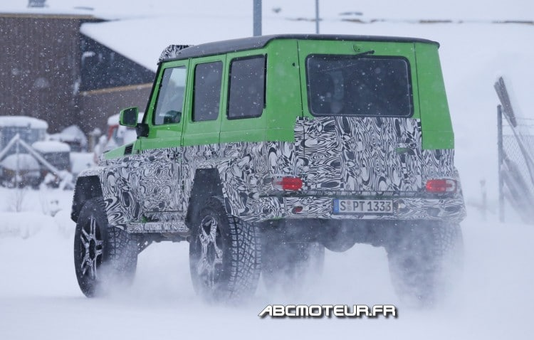 arriere prototype Mercedes G 63 AMG 4x4