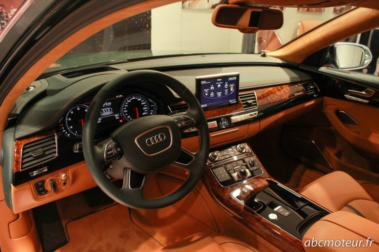interieur Audi A8 L W12 Exclusive