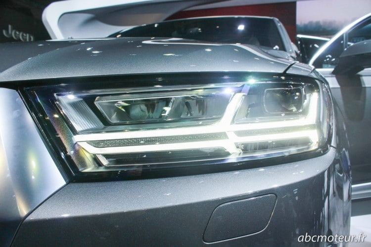 optique led Audi Q7 2015