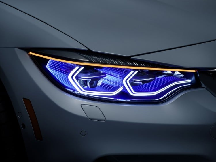 phare BMW-M4-Concept-Iconic-Lights