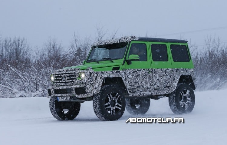 photo volee Mercedes G 63 AMG 4x4