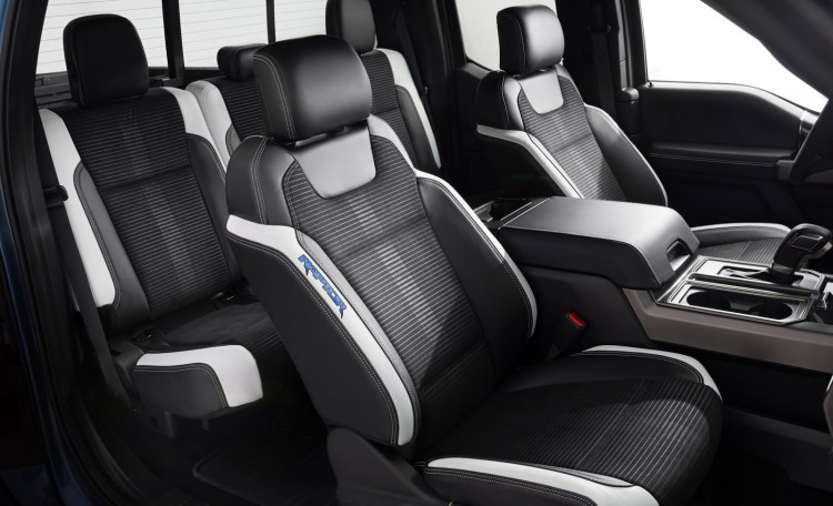 places assises Ford-F-150-Raptor-2017