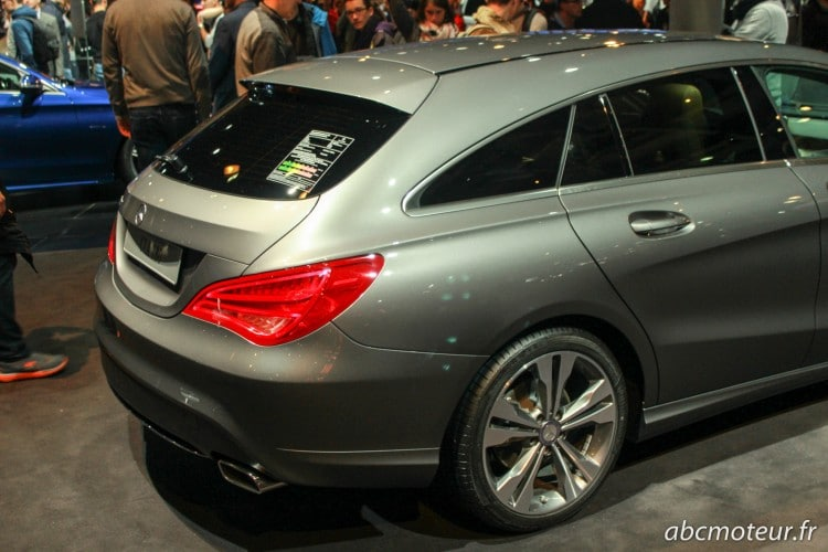poupe Mercedes CLA Shooting Brake
