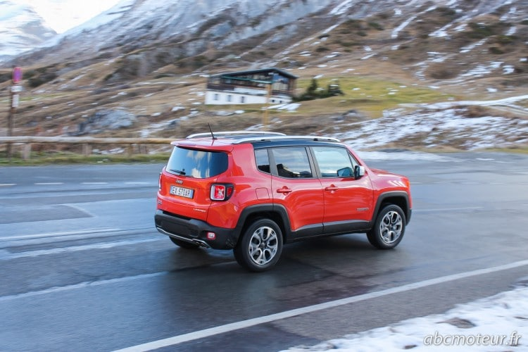 roulage Jeep Renegade