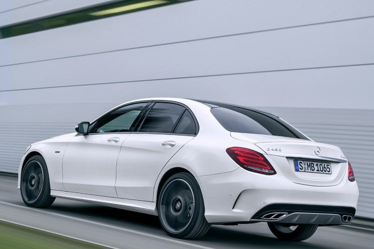 roulage Mercedes-C450-AMG-Sport