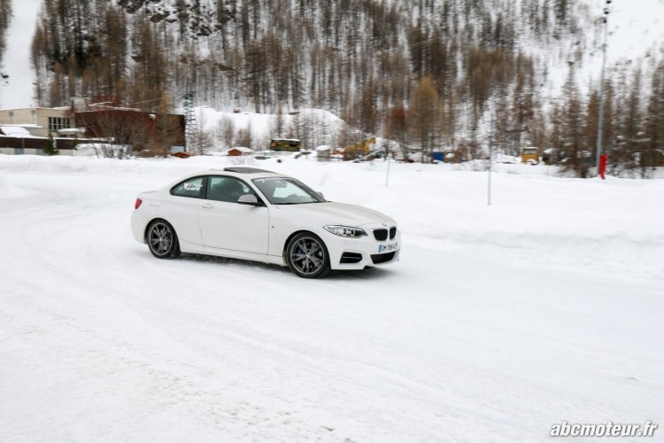BMW Serie 2 Coupe M235i xDrive circuit sur glace-6