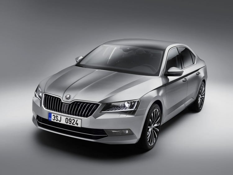 Nouvelle Skoda Superb 2015 - 10