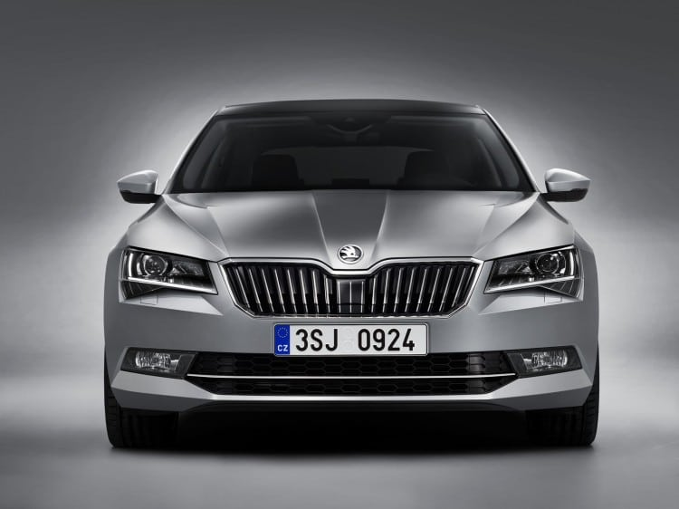 Nouvelle Skoda Superb 2015 - 3