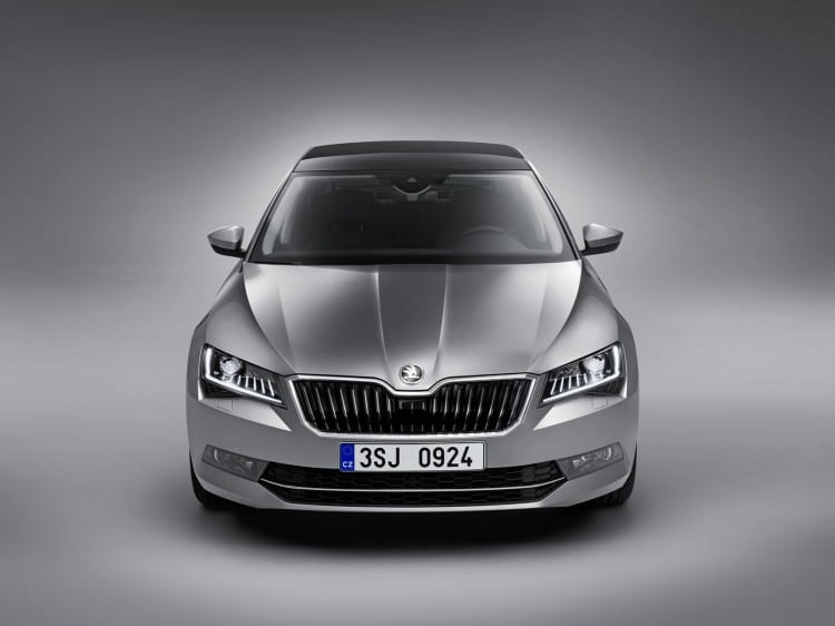 Nouvelle Skoda Superb 2015 - 9