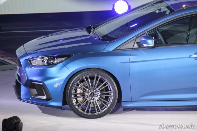 aile avant nouvelle Ford Focus RS