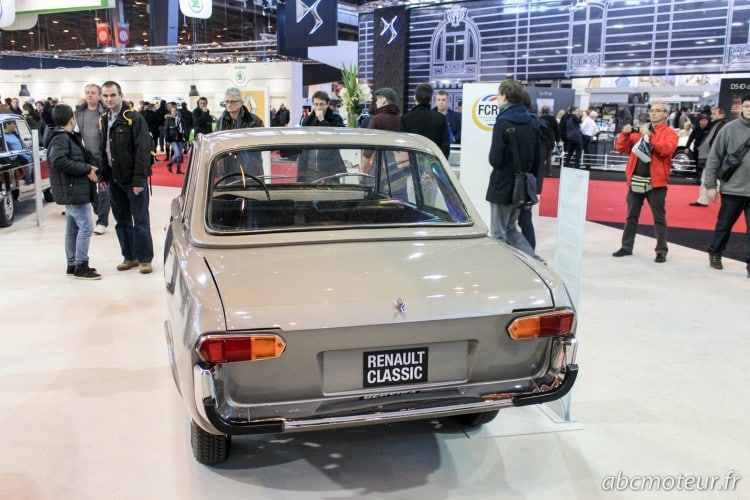 arriere Renault 16 coupe cabriolet